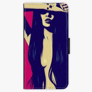 Flipové pouzdro iSaprio - Cartoon Girl - Nokia 6