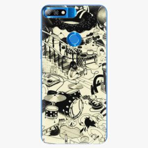 Plastový kryt iSaprio - Underground - Huawei Y7 Prime 2018