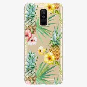 Plastový kryt iSaprio - Pineapple Pattern 02 - Samsung Galaxy A6 Plus