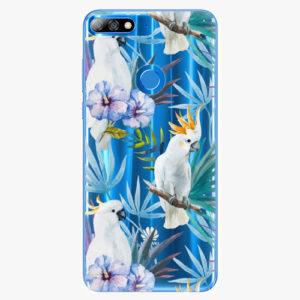 Plastový kryt iSaprio - Parrot Pattern 01 - Huawei Y7 Prime 2018