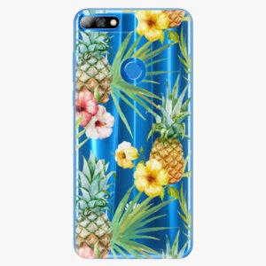 Plastový kryt iSaprio - Pineapple Pattern 02 - Huawei Y7 Prime 2018