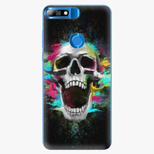 Plastový kryt iSaprio - Skull in Colors - Huawei Y7 Prime 2018