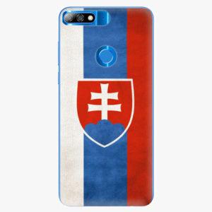 Plastový kryt iSaprio - Slovakia Flag - Huawei Y7 Prime 2018