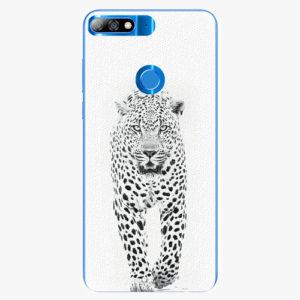 Plastový kryt iSaprio - White Jaguar - Huawei Y7 Prime 2018