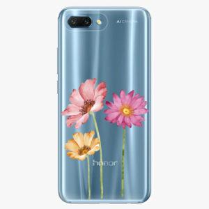 Plastový kryt iSaprio - Three Flowers - Huawei Honor 10
