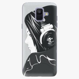 Plastový kryt iSaprio - Headphones - Samsung Galaxy A6