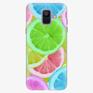 Plastový kryt iSaprio - Lemon 02 - Samsung Galaxy A6