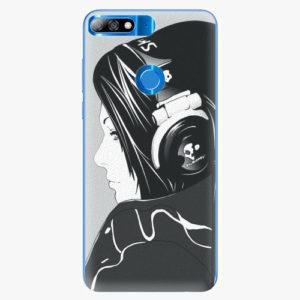 Plastový kryt iSaprio - Headphones - Huawei Y7 Prime 2018