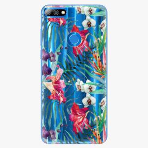 Plastový kryt iSaprio - Flower Pattern 03 - Huawei Y7 Prime 2018