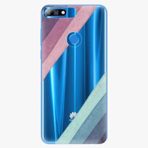 Plastový kryt iSaprio - Glitter Stripes 01 - Huawei Y7 Prime 2018