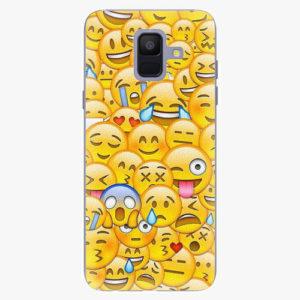 Plastový kryt iSaprio - Emoji - Samsung Galaxy A6