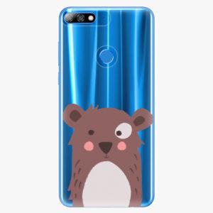 Plastový kryt iSaprio - Brown Bear - Huawei Y7 Prime 2018