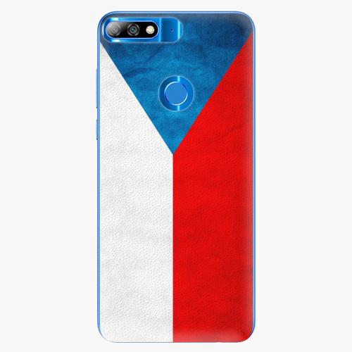 Plastový kryt iSaprio - Czech Flag - Huawei Y7 Prime 2018