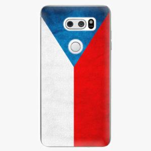 Plastový kryt iSaprio - Czech Flag - LG V30