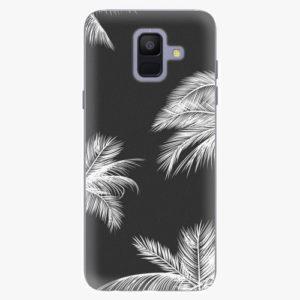 Plastový kryt iSaprio - White Palm - Samsung Galaxy A6
