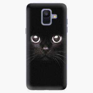 Plastový kryt iSaprio - Black Cat - Samsung Galaxy A6