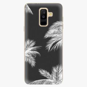 Plastový kryt iSaprio - White Palm - Samsung Galaxy A6 Plus