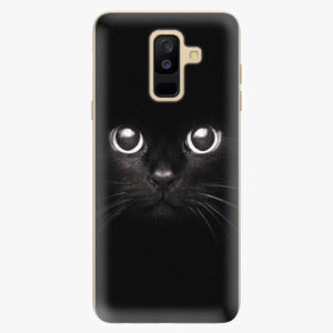 Plastový kryt iSaprio - Black Cat - Samsung Galaxy A6 Plus