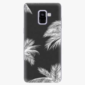Plastový kryt iSaprio - White Palm - Samsung Galaxy A8 Plus