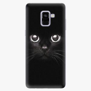Plastový kryt iSaprio - Black Cat - Samsung Galaxy A8 Plus