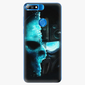 Plastový kryt iSaprio - Roboskull - Huawei Y7 Prime 2018