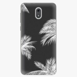 Plastový kryt iSaprio - White Palm - Nokia 2