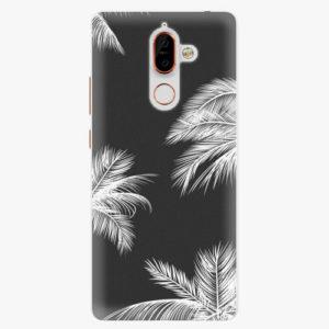 Plastový kryt iSaprio - White Palm - Nokia 7 Plus