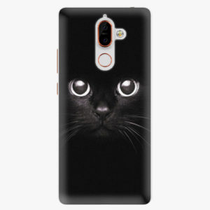Plastový kryt iSaprio - Black Cat - Nokia 7 Plus