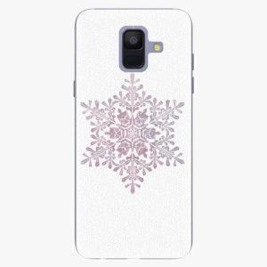 Plastový kryt iSaprio - Snow Flake - Samsung Galaxy A6