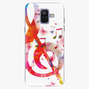 Plastový kryt iSaprio - Love Music - Samsung Galaxy A6
