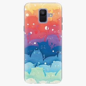 Plastový kryt iSaprio - Cats World - Samsung Galaxy A6