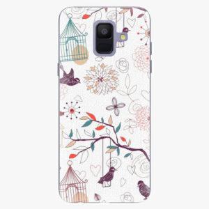 Plastový kryt iSaprio - Birds - Samsung Galaxy A6