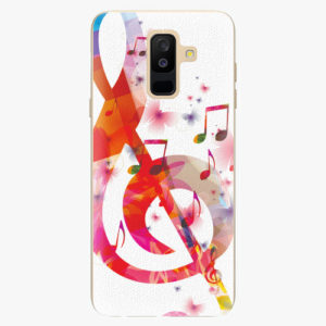 Plastový kryt iSaprio - Love Music - Samsung Galaxy A6 Plus