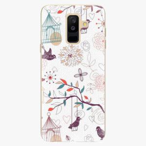 Plastový kryt iSaprio - Birds - Samsung Galaxy A6 Plus