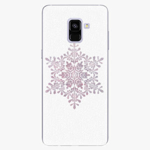 Plastový kryt iSaprio - Snow Flake - Samsung Galaxy A8 Plus