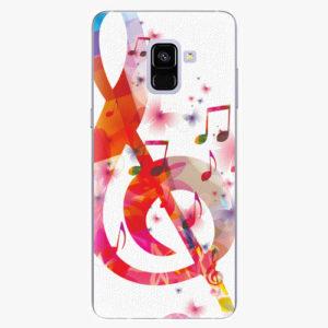 Plastový kryt iSaprio - Love Music - Samsung Galaxy A8 Plus