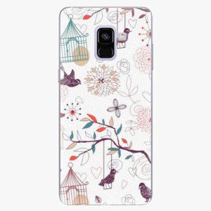 Plastový kryt iSaprio - Birds - Samsung Galaxy A8 Plus