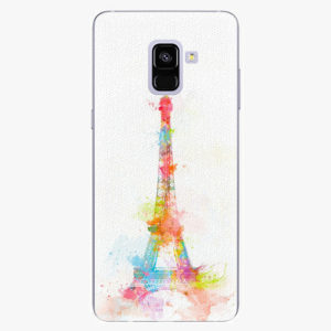 Plastový kryt iSaprio - Eiffel Tower - Samsung Galaxy A8 Plus