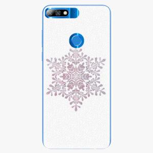 Plastový kryt iSaprio - Snow Flake - Huawei Y7 Prime 2018