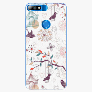 Plastový kryt iSaprio - Birds - Huawei Y7 Prime 2018