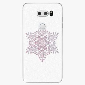 Plastový kryt iSaprio - Snow Flake - LG V30