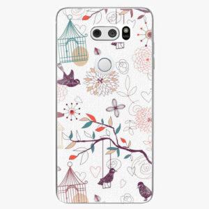 Plastový kryt iSaprio - Birds - LG V30