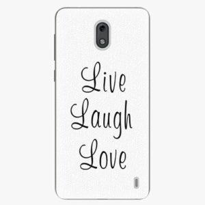 Plastový kryt iSaprio - Live Laugh Love - Nokia 2