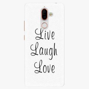 Plastový kryt iSaprio - Live Laugh Love - Nokia 7 Plus