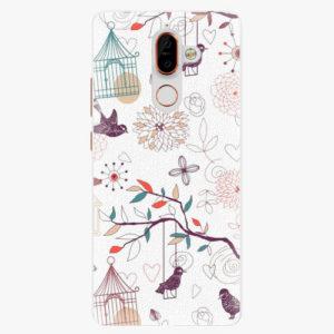 Plastový kryt iSaprio - Birds - Nokia 7 Plus
