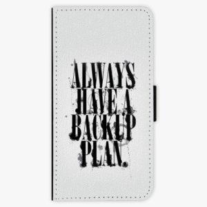 Flipové pouzdro iSaprio - Backup Plan - Huawei P9 Lite Mini