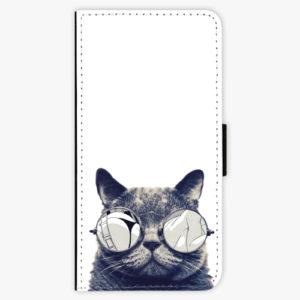 Flipové pouzdro iSaprio - Crazy Cat 01 - Xiaomi Redmi 4X