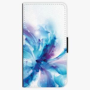 Flipové pouzdro iSaprio - Abstract Flower - Huawei P20 Lite