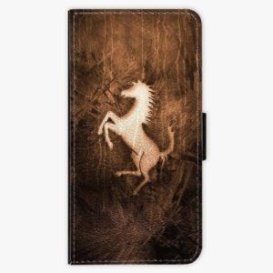 Flipové pouzdro iSaprio - Vintage Horse - Huawei P20 Lite