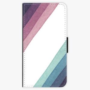 Flipové pouzdro iSaprio - Glitter Stripes 01 - Huawei Honor 10